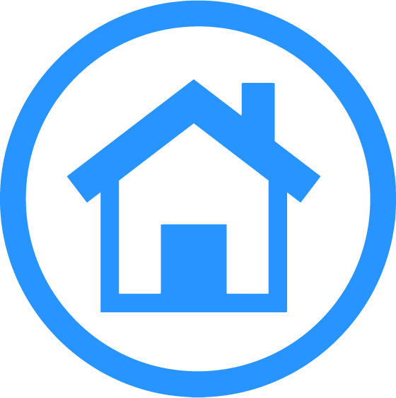 Icon with a house image representing the At Home Capabilities of Cognitopia